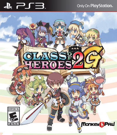 Class of Heroes 2G Box Cover Final